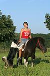 Shetland Pony und Border Collie / Shetland Pony and Border Collie