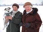 Frauen mit Parson Russell Terrier / women with PRT