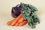 M�hren und Kohlrabi / carrots and kohlrabi
