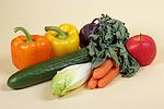 Gem�se und Obst / vegetables and fruits
